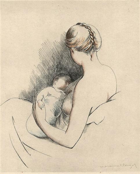 Marianne CLOUZOT (Francia, 1908 – 2007) – PREMIER BEBE'