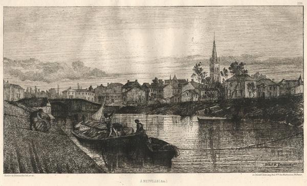 Xavier de DANANCHE (Francia, 1828 – 1894) – À NEUVILLE (AIN)