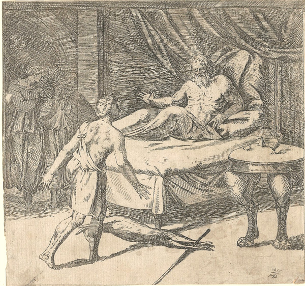 Orazio BORGIANI (Firenze, 1577 – 1616) – ISACCO BENEDICE GIACOBBE