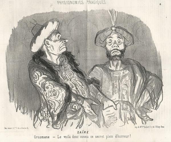 Honoré DAUMIER (Francia, 1808 – 1879) – ZAIRE