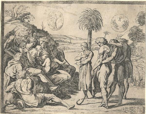 Orazio BORGIANI (Firenze, 1577 – 1616) – GIUSEPPE RACCONTA I SUOI SOGNI AI FRATELLI (1577) – BORGIANI Orazio