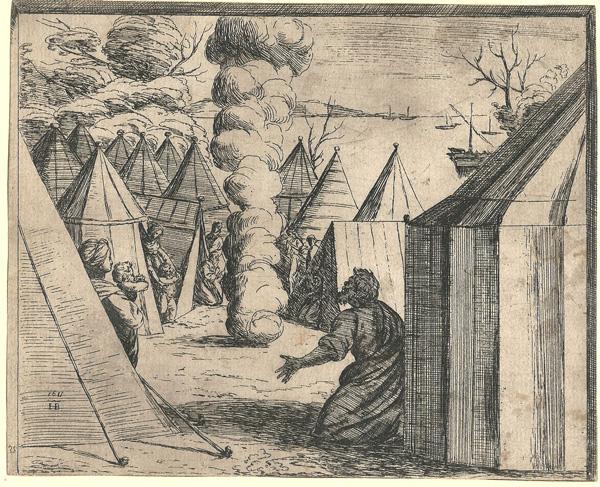 Orazio BORGIANI (Firenze, 1577 – 1616) – LA COLONNA DI NUBI