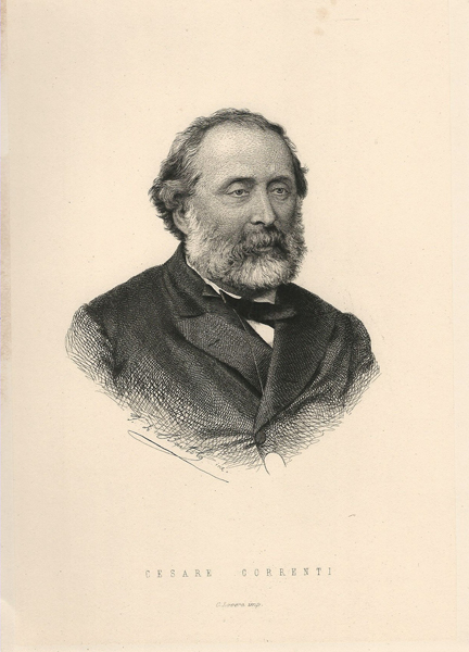 Francesco DI BARTOLO (Catania, 1826 – ?) – CESARE CORRENTI