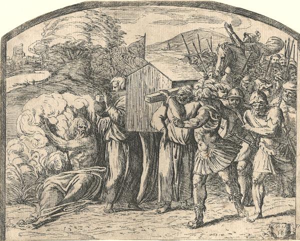 Orazio BORGIANI (Firenze, 1577 – 1616) – IL TRASPORTO DELL'ARCA