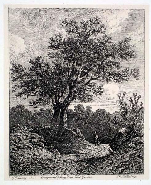 Francois DIDAY (Svizzera, 1802 – 1877) – VIANDANTE