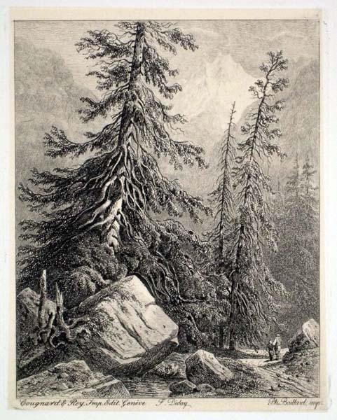 Francois DIDAY (Svizzera, 1802 – 1877) – VIANDANTI
