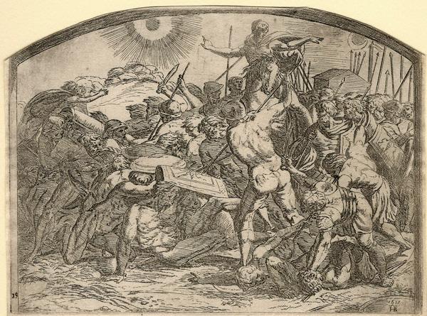 Orazio BORGIANI (Firenze, 1577 – 1616) – GIOSUÈ FERMA IL SOLE