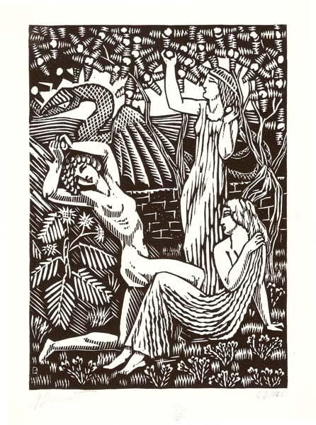 Raphael DROUART (Francia, 1884 – 1972) – LES HESPERIDES