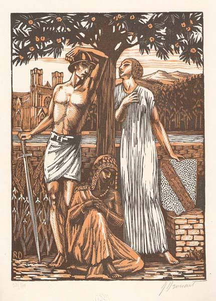 Raphael DROUART (Francia, 1884 – 1972) – JEUX SUR LA PLAGE