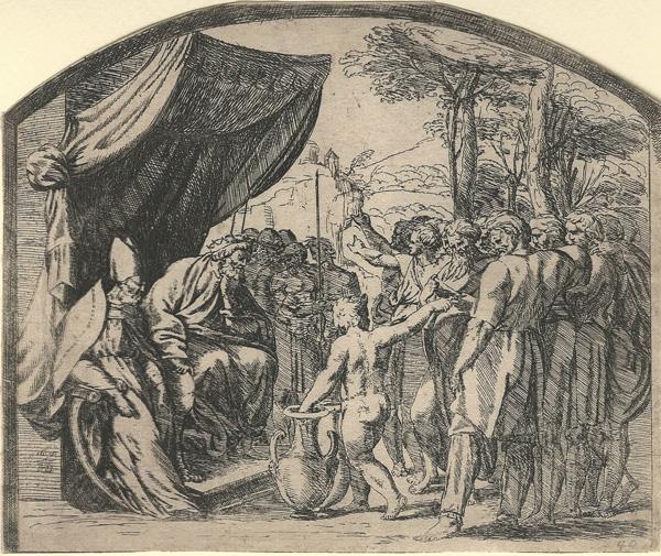 Orazio BORGIANI (Firenze, 1577 – 1616) – LA DISTRIBUZIONE DELLE TERRE AI FIGLI DI ISRAELE