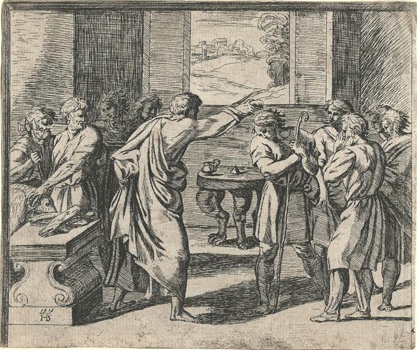 Orazio BORGIANI (Firenze, 1577 – 1616) – L'UNZIONE DI DAVIDE