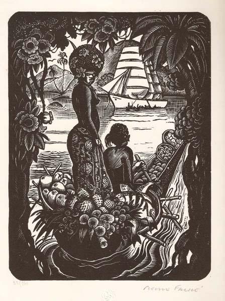 Pierre FALKE (Francia, 1884 – 1947) – SOUVENIRS D'OCEANIE