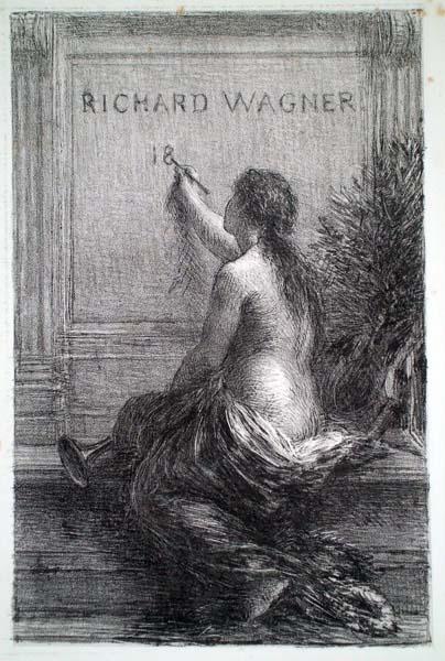 Henri FANTIN LATOUR (Francia, 1836 – 1904) – IMMORTALITE