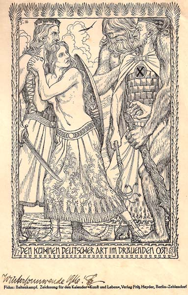 Hugo Reinold Karl Johann HOPPENER (Germania, 1868 – 1948) – BALENKAMPF