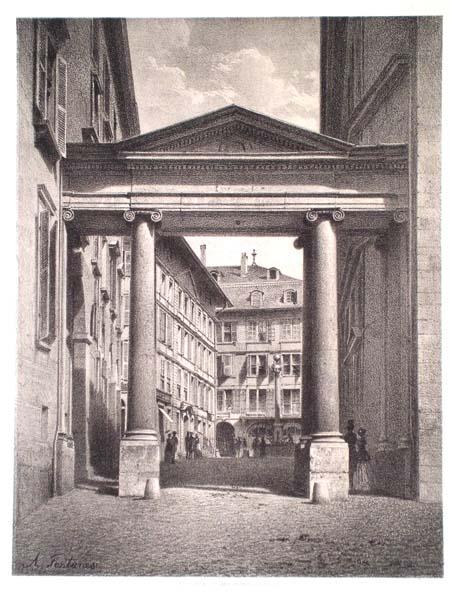 Antonio FONTANESI (Reggio Emilia, 1818 – Torino, 1882) – PORTE DE LA TREILLE