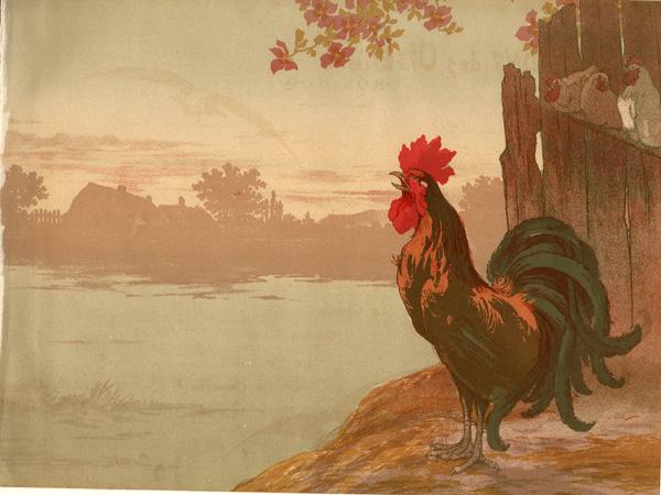 Georges FRAIPONT (Francia, 1873 – 1912) – MON COQ