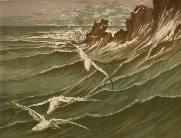 Georges FRAIPONT (Francia, 1873 – 1912) – LES MOUETTES