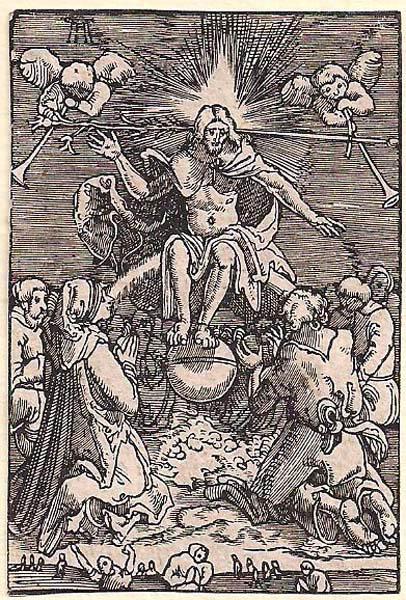 Albrecht ALTDORFER (Baviera, c.a 1480 – 1538) – IL GIUDIZIO UNIVERSALE