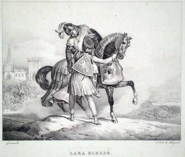 Théodore GERICAULT (Francia, 1791 – 1824) – LARA BLESSE