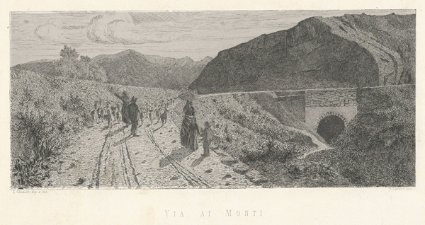 Enrico GHISOLFI (Barolo, 1837 – 1897) – VIA AI MONTI