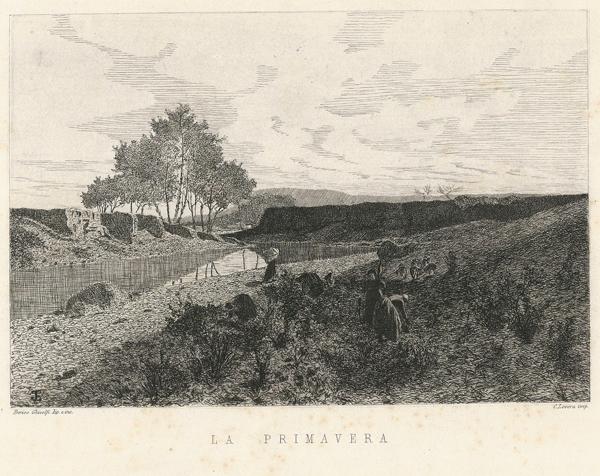 Enrico GHISOLFI (Barolo, 1837 – 1897) – LA PRIMAVERA