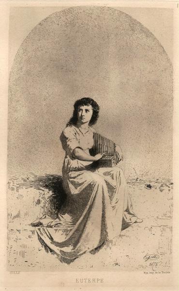 Alberto Maso GILLI (Chieri, 1840 – 1894) – EUTERPE (1875)