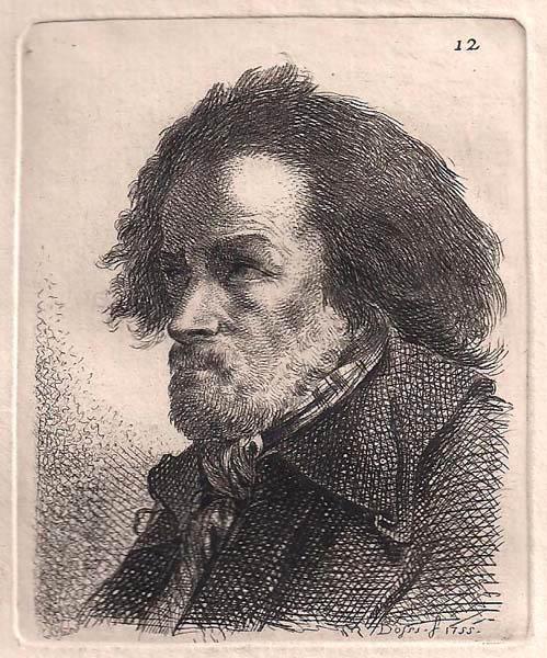 Benigno BOSSI (Arcisate, 1727 – 1792) – TESTA VIRILE (1755)