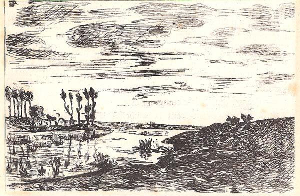 Jean GUILLAUMIN (Francia, 1841 – 1927) – LES MARAIS DE VITRY