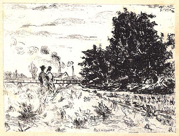 Jean GUILLAUMIN (Francia, 1841 – 1927) – BAS MEUDON o DANS LES HAUTES HERBES