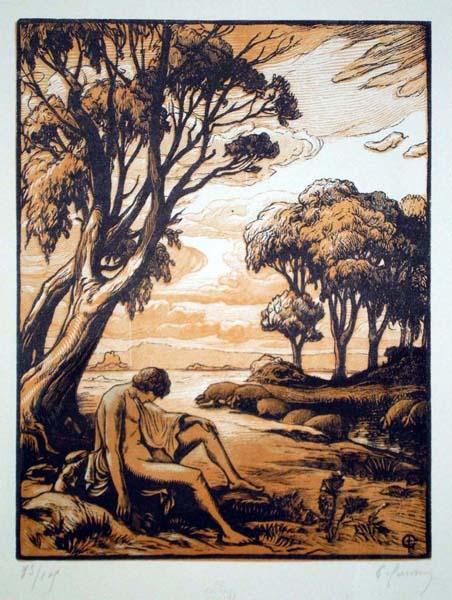 Pierre GUSMAN (Francia, 1862 – 1942) – L'ENFANT PRODIGUE