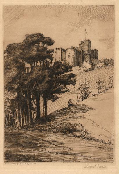 Myra Kathleen HUGHES (Gran Bretagna, 1877 – 1918) – DOVER CASTLE