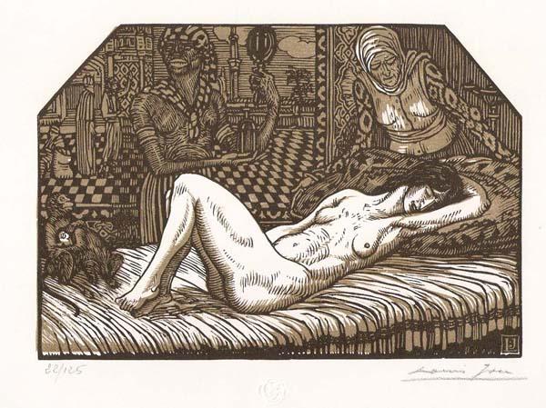 Louis JOU y Senabre (Spagna, 1882 – 1968) – DANAE (1882)