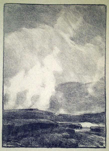 Gustave KAMPMANN (Germania, 1859 – 1917) – STEIGENDE NABELL
