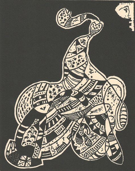 Wassili KANDINSKY (Mosca, 1866 – 1944) – Tavola per 10 ORIGIN (1942)