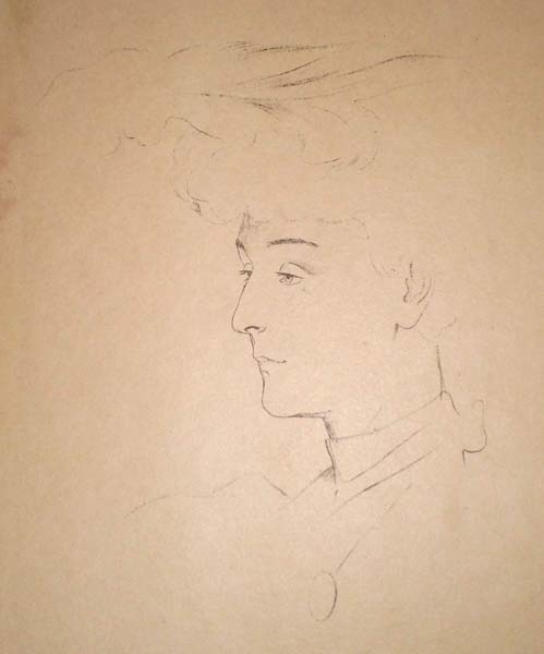 Antonio De LA GANDARA (Francia, 1882 – 1917) – ETUDE (1895)