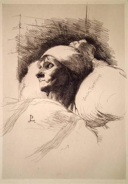 Jean Paul LAURENS (Francia, 1828 – 1921) – VICTOIRE TRANCHANT (1877)