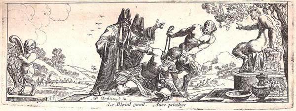 Pierre BREBIETTE (Francia, 1598 – 1650) – IL GIUDIZIO DI PAN
