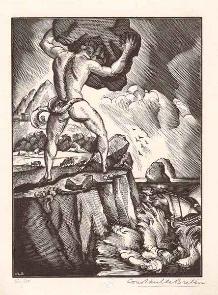 Constant LE BRETON (Francia, 1895 – 1965) – POLYPHEME