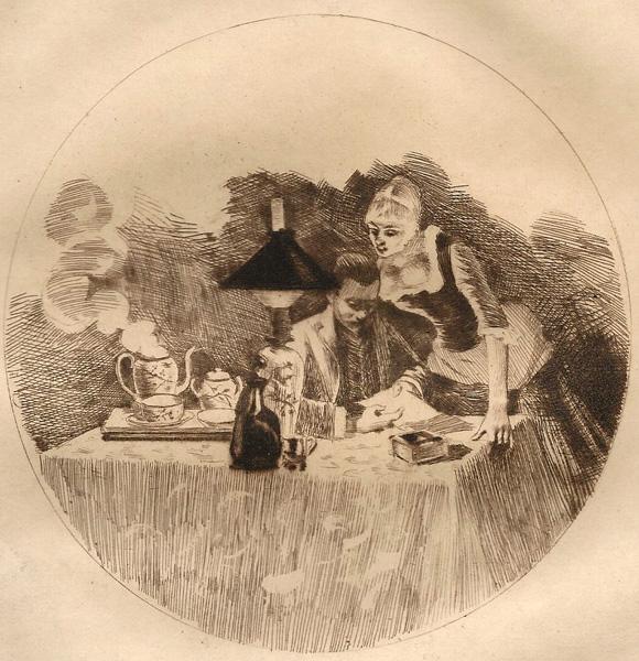 Louis LEGRAND (Francia, 1863 – 1951) – CAPRICE (1884)
