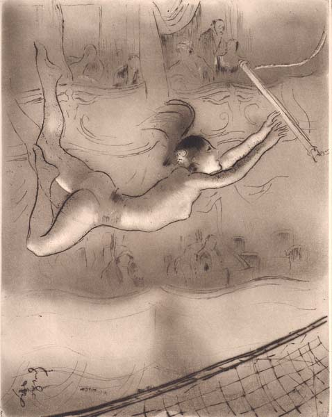 Louis LEGRAND (Francia, 1863 – 1951) – TRAPEZISTE