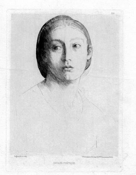 Alphonse LEGROS (Francia, 1837 – 1911) – EXTASE POETIQUE