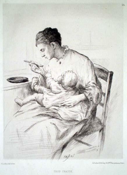 Paul LE RAT (Francia, 1849 – 1892) – TROP CHAUDE