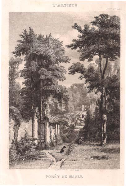 Louis-Joseph LEROY (Francia, 1812 – 1885) – FORÊT DE MARY