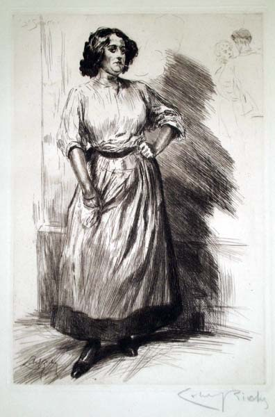 Almery LOBEL-RICHE (Francia, 1877 – 1950) – BOULEVARD SEBASTO