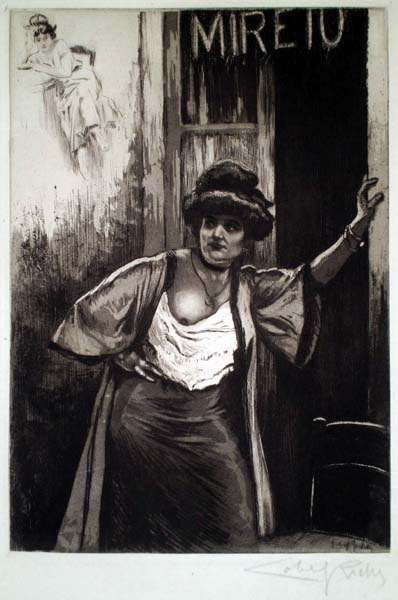 Almery LOBEL-RICHE (Francia, 1877 – 1950) – MARSEILLE
