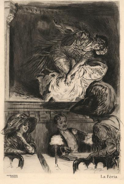 Almery LOBEL-RICHE (Francia, 1877 – 1950) – LA FERIA