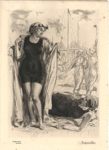 Almery LOBEL-RICHE (Francia, 1877 – 1950) – TROUVILLE