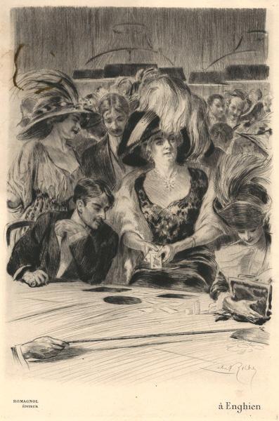 Almery LOBEL-RICHE (Francia, 1877 – 1950) – À ENGHIEN