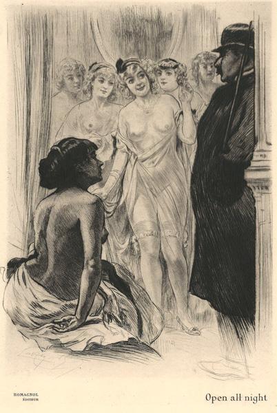 Almery LOBEL-RICHE (Francia, 1877 – 1950) – OPEN ALL NIGHT