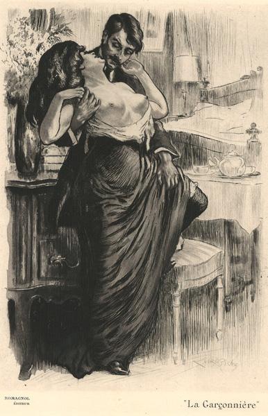 Almery LOBEL-RICHE (Francia, 1877 – 1950) – LA GARCONNIER